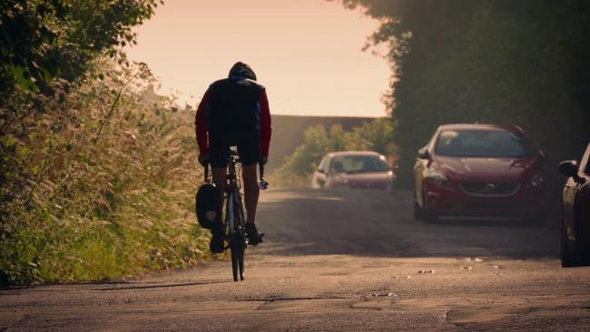 Cyclists on rural roads are vulnerable