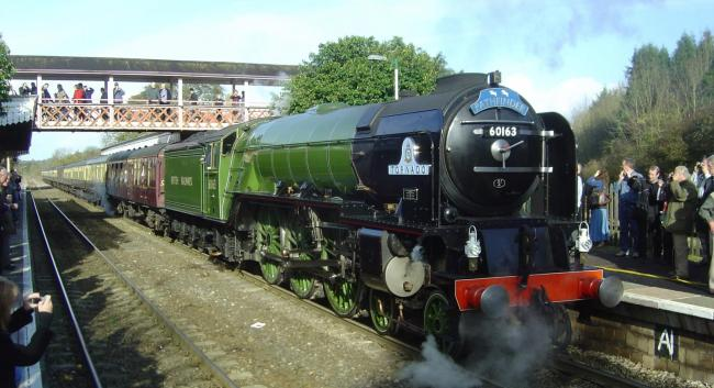 The Tornado is the UK's only new-build mainline steam locomotive.