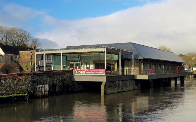 Haverfordwest's new county library and heritage centre. PICTURE: Western Telegraph
