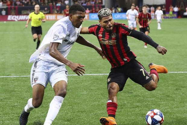 Josef Martinez, right, missed a penalty against DC United