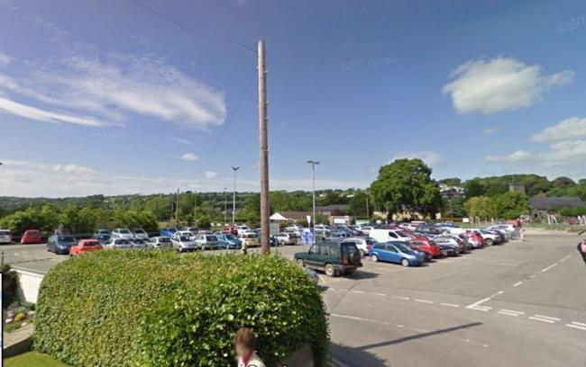 The Mart car park at Newcastle Emlyn is one of the sites in town to benefit from free parking at selected times. PICTURE: Google Maps