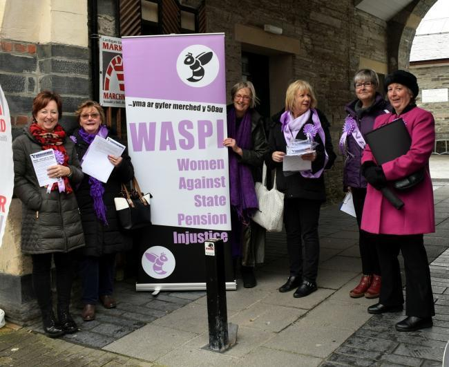 Ceredigion WASPi has written to the new chair of the Office for Tackling Injustices