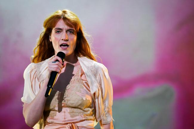 Florence and the Machine have appeared at the Other Voices music festival in the past. PICTURE: Ben Birchall/PA Wire