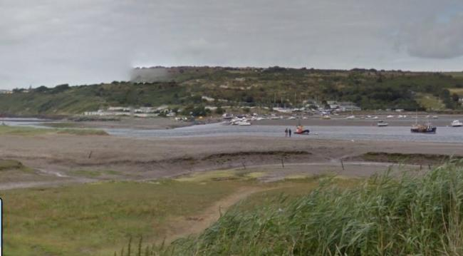 Looking across to patch from the St Dogmaels side of the river. PICTURE: Google Maps