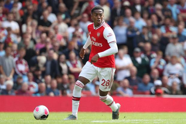 Joe Willock, 20, has started both of Arsenal's Premier League matches so far