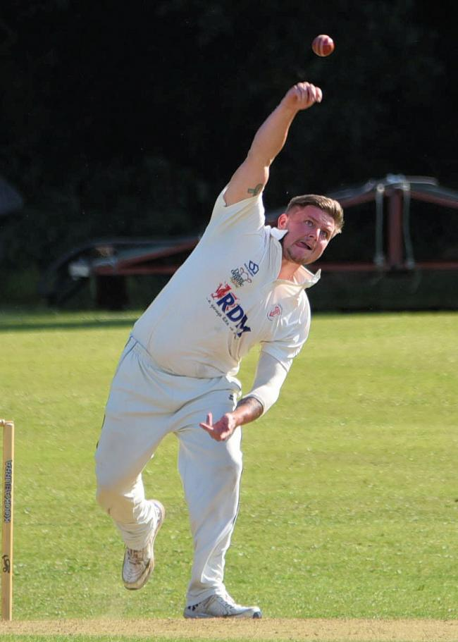 Bowling honours for Rhys Beard