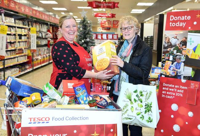 Can you help out in Tesco's food collection scheme?
