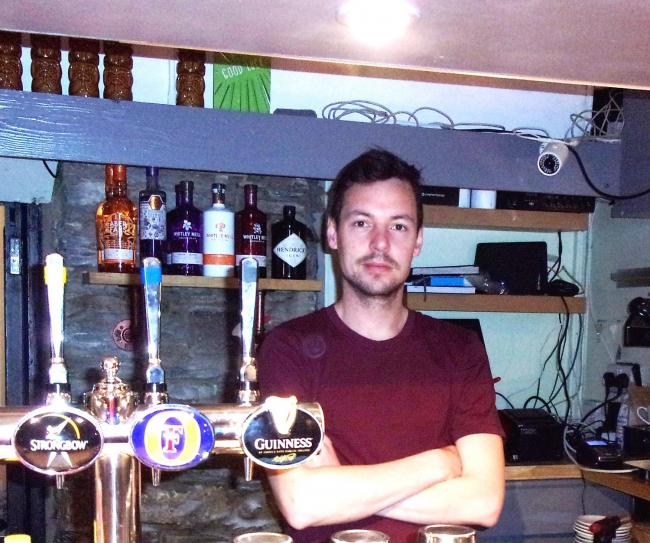 James Heneker at The Copper Pot in Cardigan