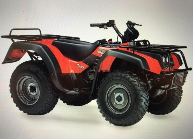 A quad bike has been stolen from New Quay