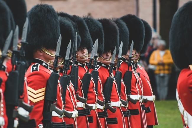 The Welsh Guards are to parade through Cardigan. PICTURE: Scott Taylor Photography