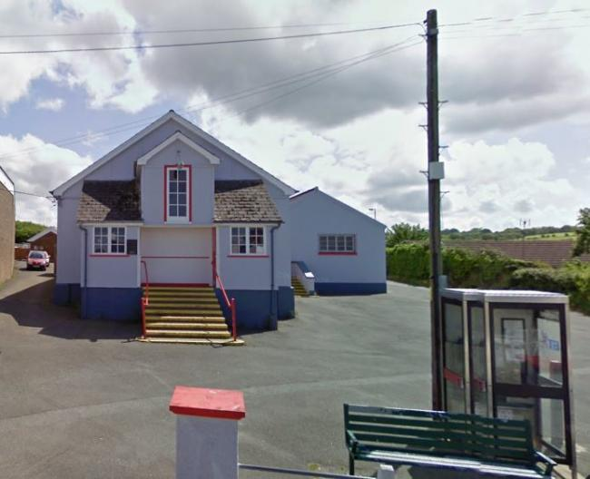Aberporth Village Hall. PICTURE: Google Maps