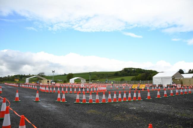 Coronavirus: Drive through test unit for key workers in Ceredigion ...
