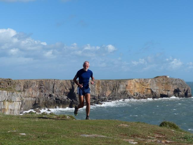 The Pembrokeshirwe Coastal Challenge is still on at the moment