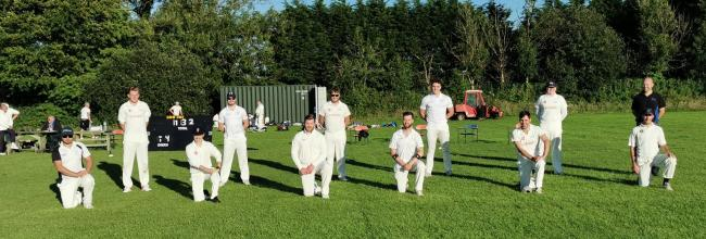 Crymych win their Ken Morris clash.