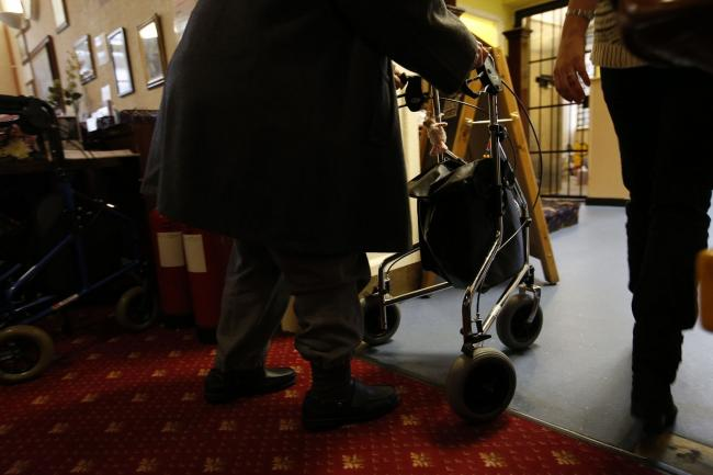 Care home visits are being suspended in Ceredigion. PICTURE: Jonathan Brady/PA Wire