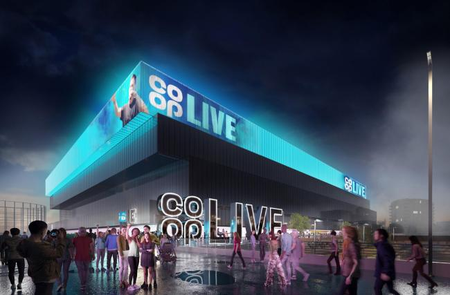 Co-op Live: New multi-million pound UK music arena to be named after supermarket chain. Picture: PA Wire/Co-op