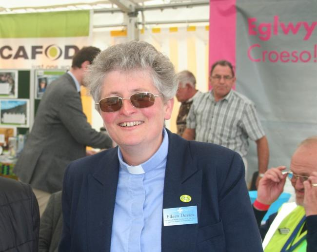 Eileen Davies, Archdeacon of Cardigan, has been awarded an MBE for her services to farming in West Wales