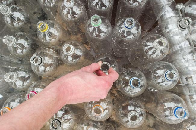 Ceredigion is to lead a project to reduce plastic across the public sector in Wales. PICTURE: Jonathan Pow/PA Wire