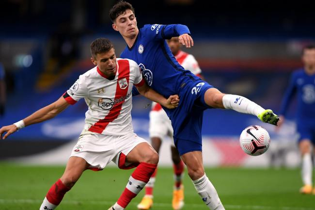 Kai Havertz (right) has shouldered the blame for Southampton's recovery in Saturday's 3-3 Premier League draw at Stamford Bridge