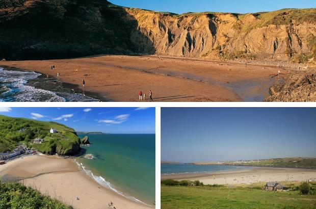 Six beaches in the Tivyside area have been classed as excellent