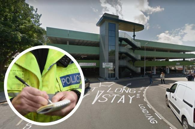 Police have now added the Tenby multi-storey car park area to their patrol plan
