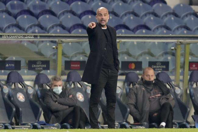 Pep Guardiola's Manchester City drew at Porto