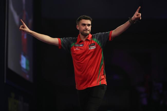 Cardigan's Jamie Lewis will be hoping to relive past glories at the World Darts Championship. PICTURE: Lawrence Lustig/PDC