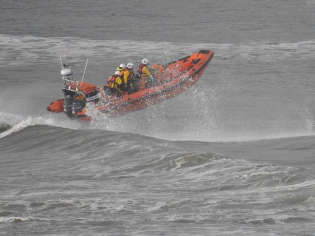 Cardigan's Atlantic-class lifeboat. PICTURE: Mike Jones