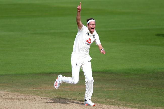 Stuart Broad was among the wickets
