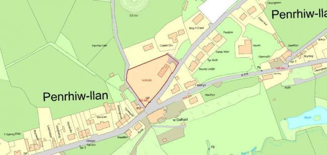 Plans have been approved for seven houses at Penrhiwllan