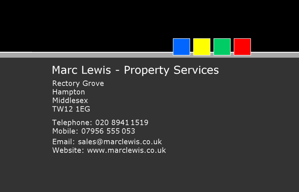 Marc Lewis - Property Services
