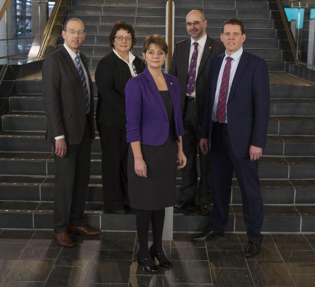 Plaid's new shadow cabinet