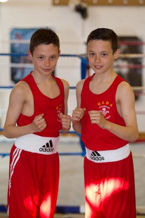Cardigan ABC's outstanding schoolboy prospects Ioan and Garan Croft, from Crymych, will be in action when boxing comes to Newcastle Emlyn for the first time on February 28.