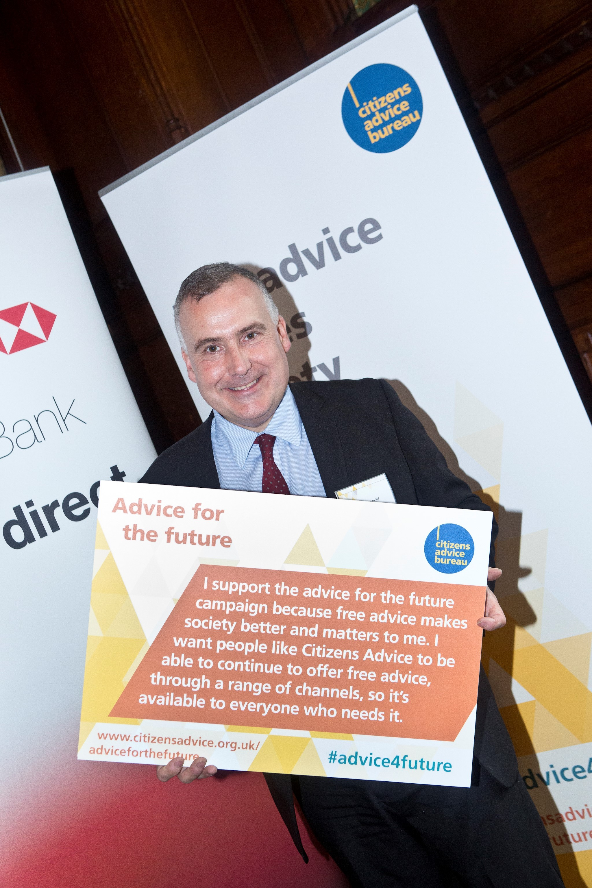 MP pledges support for Citizens Advice