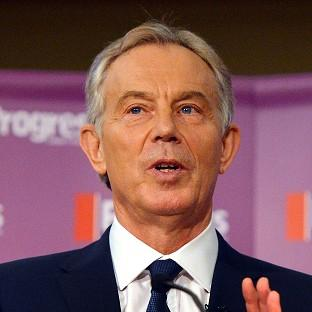 Tony Blair congratulated
