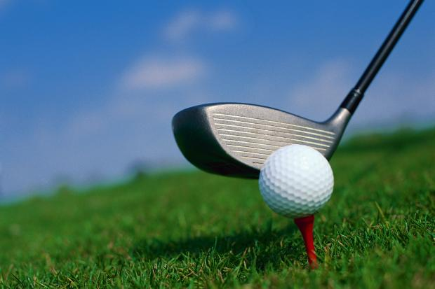 Close-up of Golf Club and Golf Ball (9720640)