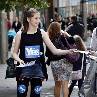 Women For Independence claimed that a Better Together campaign video is 'insulting'