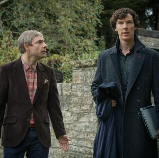 Martin Freeman already knows some of what will happen in the new series of Sherlock