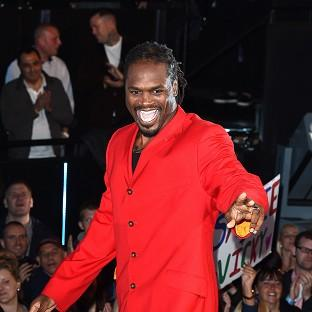 Audley Harrison has been reprimanded for his use of potentially 'offensive language'