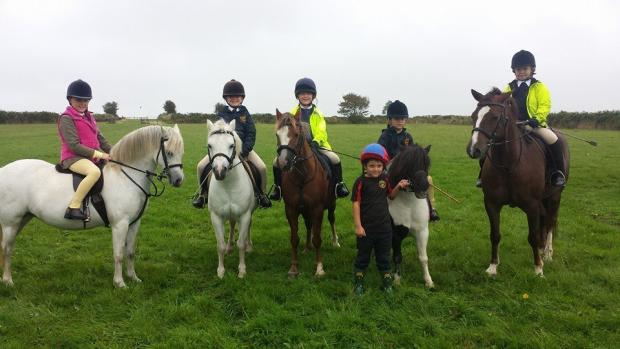 Pony club junior members