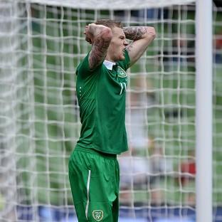Republic of Ireland's James McClean will n