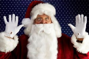 You'd better watch out! Father Christmas to fly over Pembrokeshire tonight