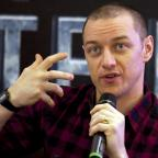Tivyside Advertiser: James McAvoy believes Scotland will have 'conscious uncoupling' within a decade
