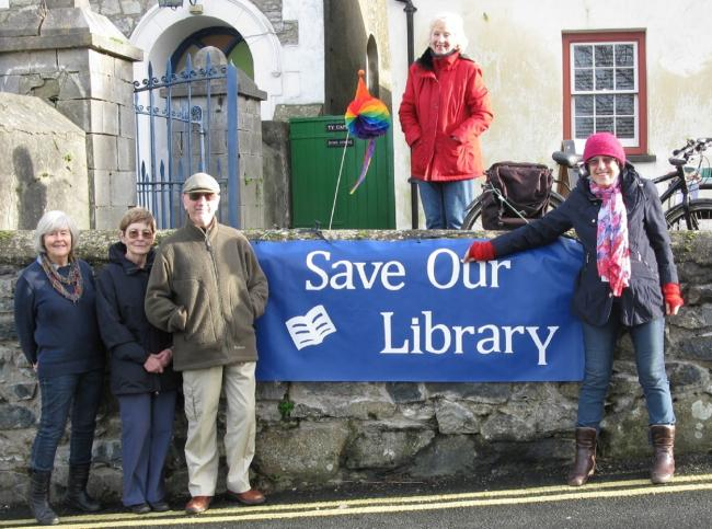 Members of Newport Library Working Group are working with Pembrokeshire County Council  to save Newport library - and are calling on more people to help them by raising money and volunteering their services PICTURE: (S) (54411734)