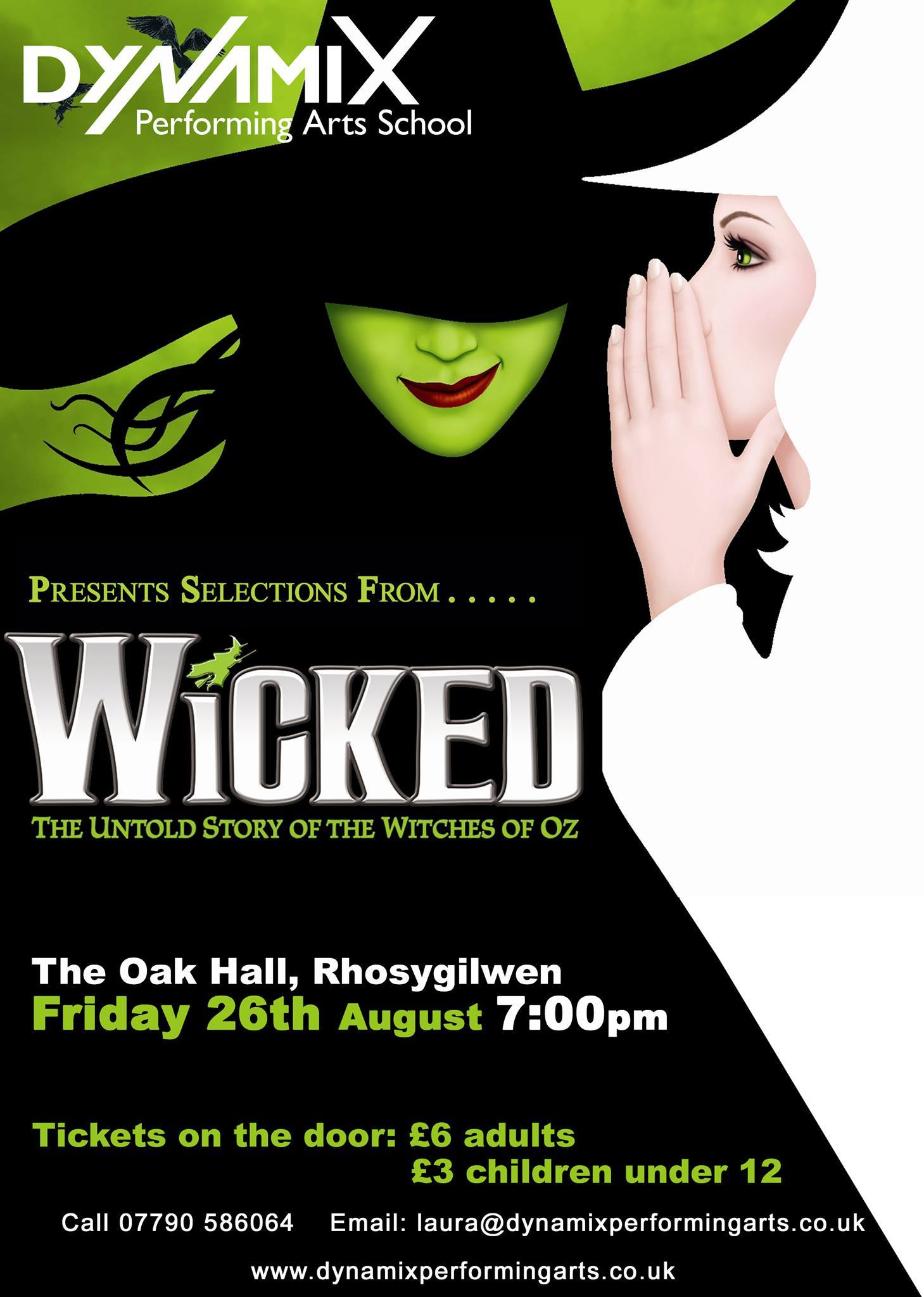 Selections form Wicked the musical