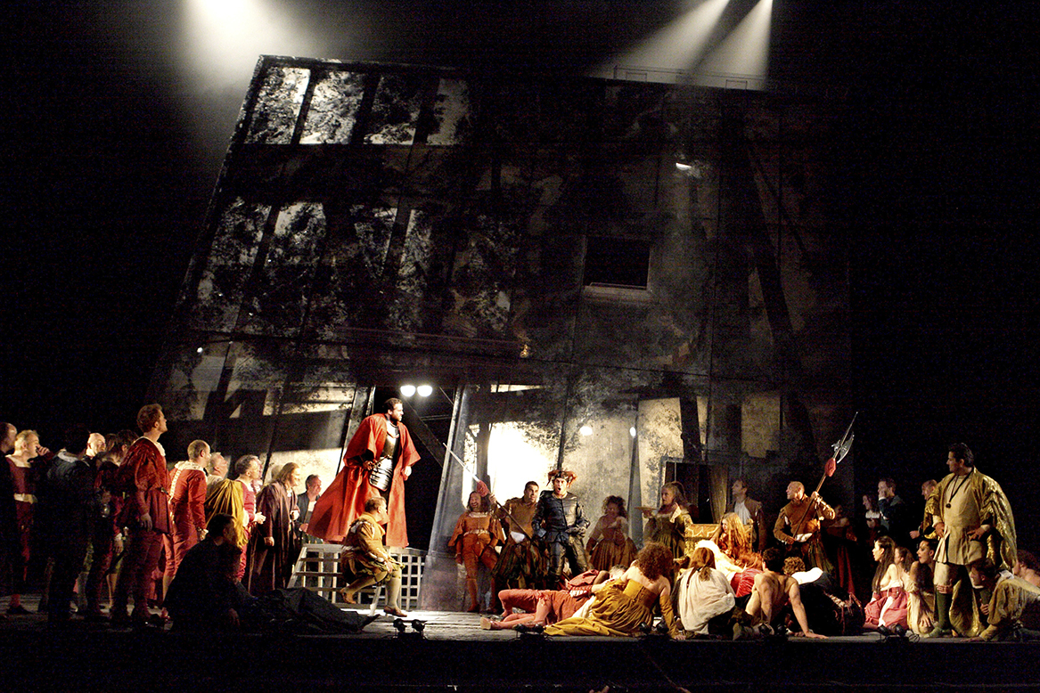 The Royal Opera House is to broadcast Rigoletto live. PICTURE: Catherine Ashmore