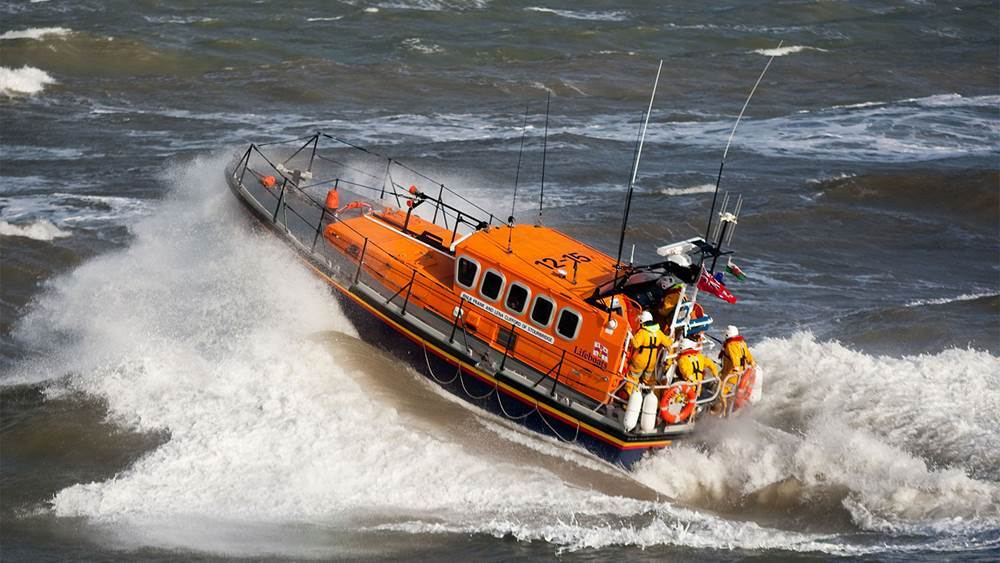 New Quay all-weather lifeboat