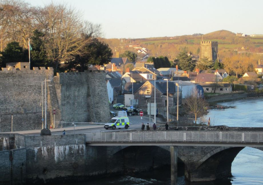 Child rescued from car in River Teifi at Cardigan