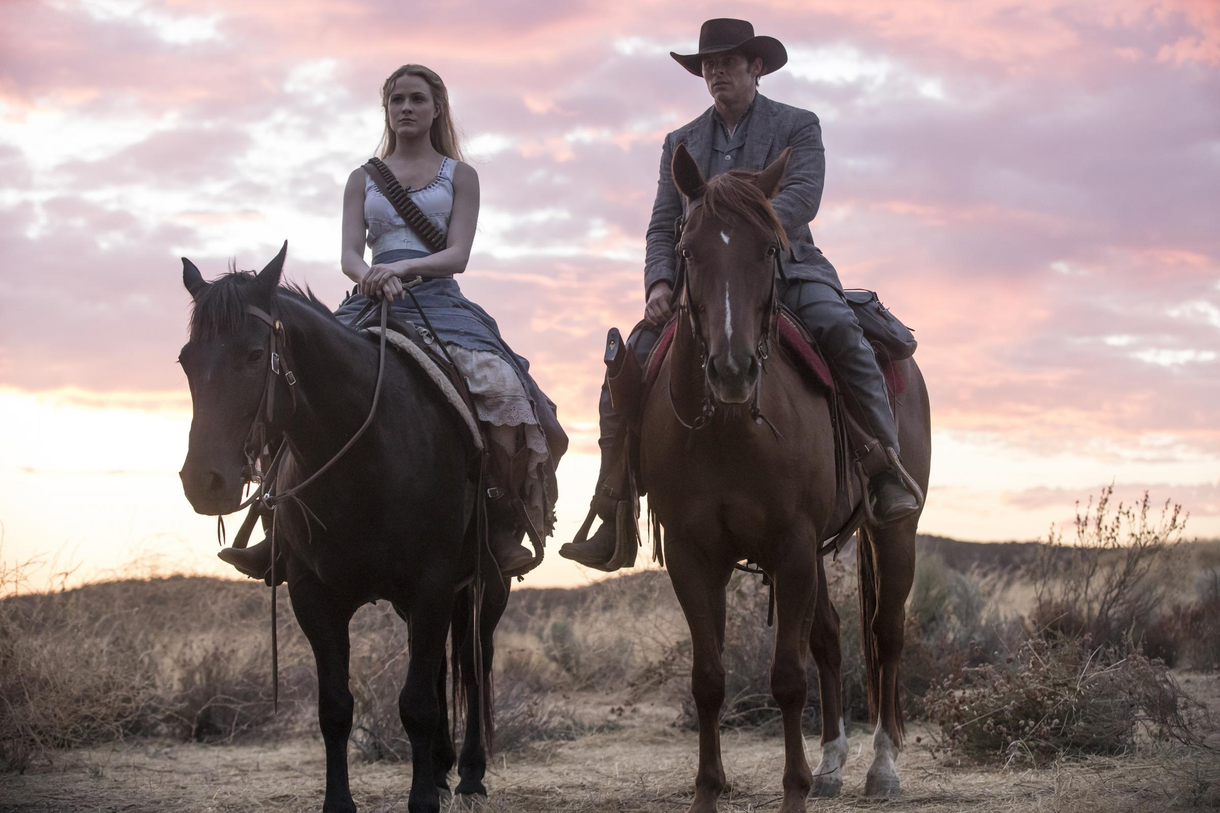A star of Westworld has told fans the new series will turn the show's world 'upside down' (HBO/PA)