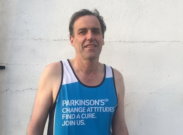 Johnny Cox is tackling the London Marathon - his first attempt at the distance. PICTURE: Anwen Francis